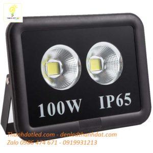 đèn pha led 100w rọi