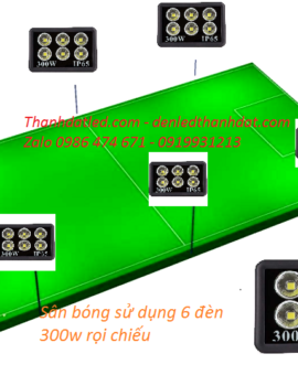 Đèn sân bóng mini