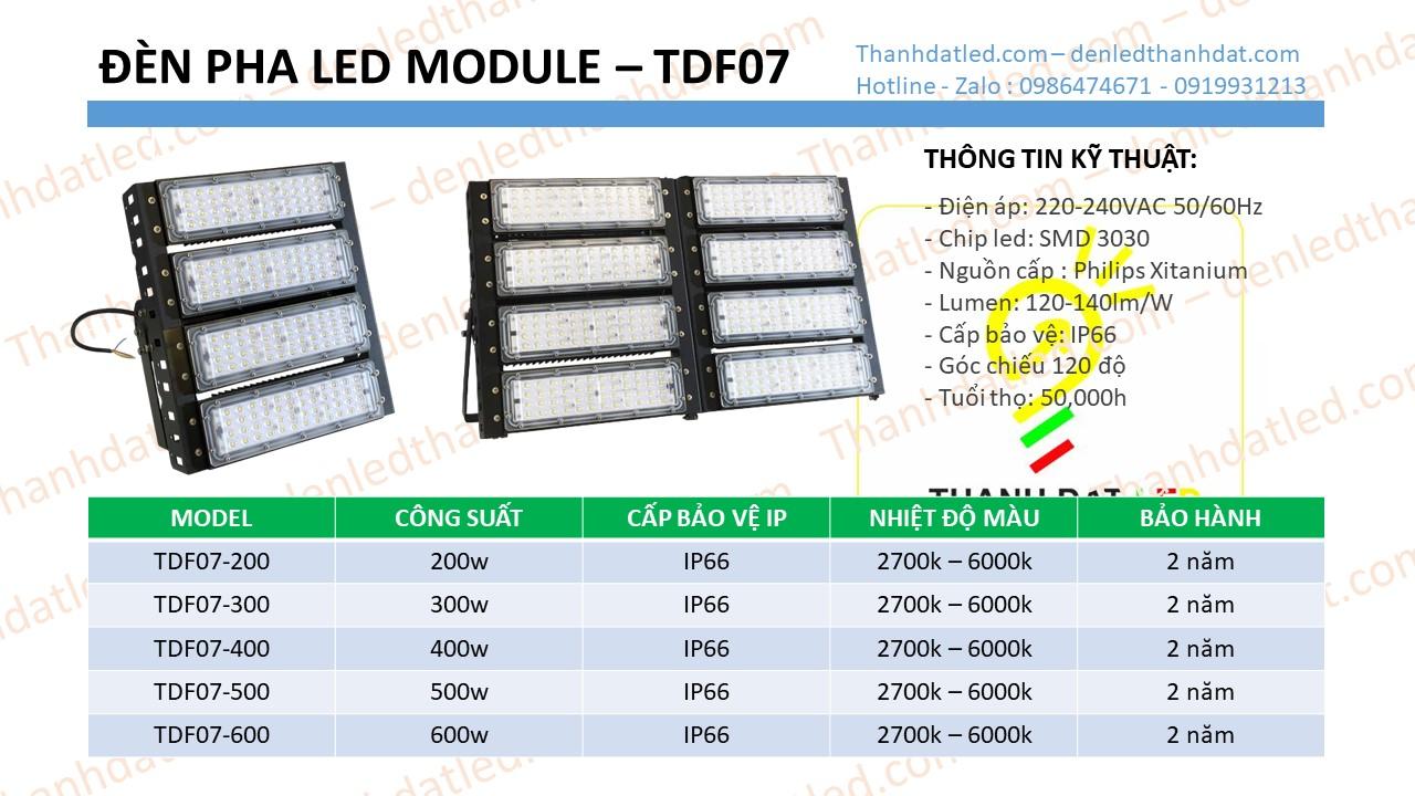 đèn pha led module