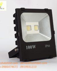 đèn pha led 100w ip66 ngoài trời