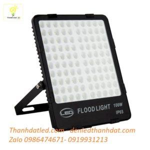 đèn pha led 100w ip65 tổ ong