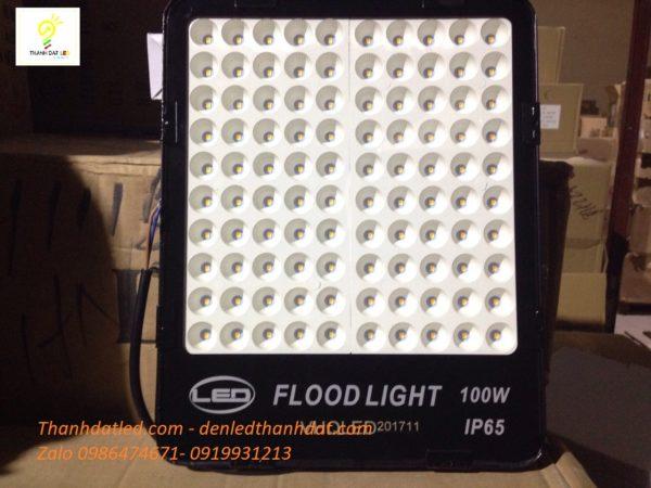 đèn pha led tổ ong smd 100w