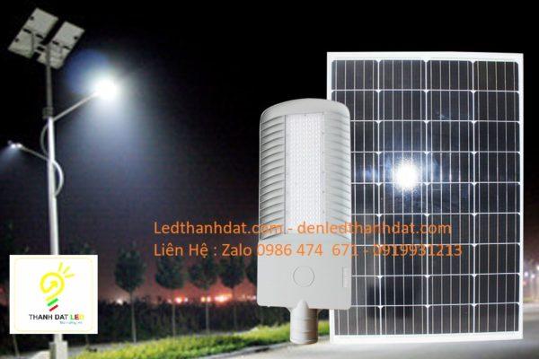 đèn đường led năng lượng măt trời nhôm đúc cao cấp