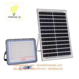 đèn pha năng lượng mặt trời cao cấp 200w nhôm đúc