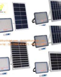 đèn pha năng lượng mặt trời cao cấp 60w 100w 150w 20w0 nhôm đúc