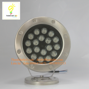 đèn led âm nước 18w