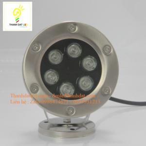 đèn led âm nước 6w IP68