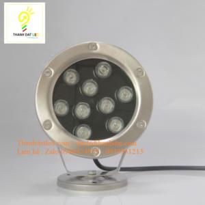 đèn led âm nước 9w