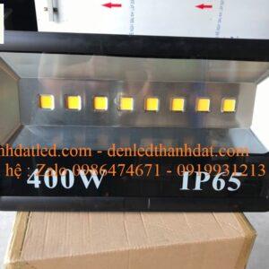 đèn pha led 400w chiếu rộng