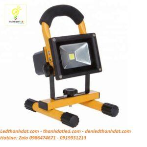 đèn pha tích điện 10w