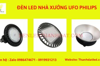 đèn led nhà xưởng ufo