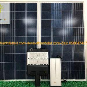 đèn đường năng lượng mặt trời 100w cao cấp MDS