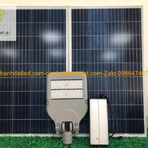 đèn đường năng lượng mặt trời 100w cao cấp MDSM1