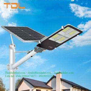 đèn đường năng lượng mặt trời bàn chải 200w
