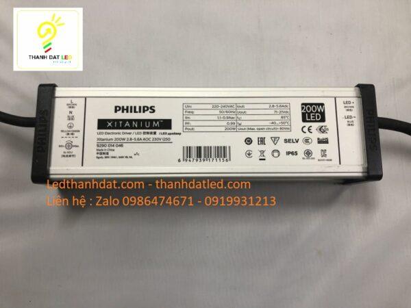 nguồn philips xitannium 200w driver